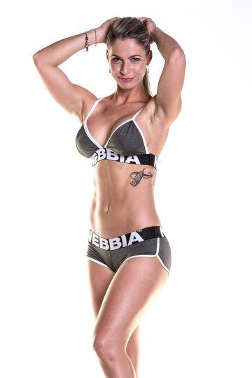 NEBBIA Fitness melltartó 267- Khaki