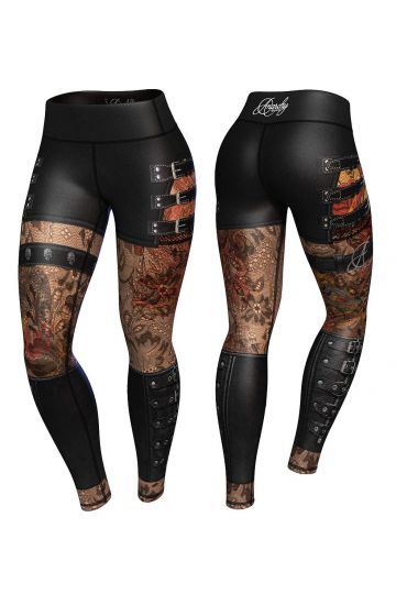 Anarchy Apparel Hellraiser Kompressziós Leggings
