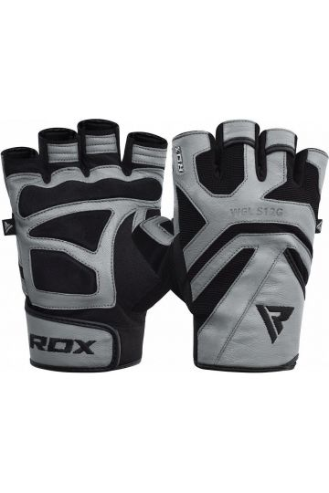 RDX Gym Weight Lifting S12 GRAY kesztyű