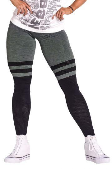 NEBBIA Over the knee Leggings 286 - Khaki
