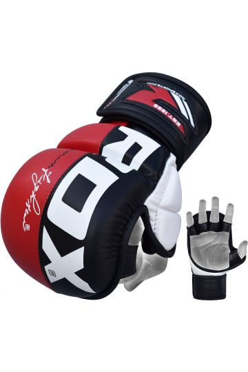 RDX Grappling Gloves Rex Red T6/L