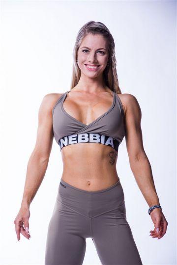 NEBBIA Open Back Damen Mini Top 620