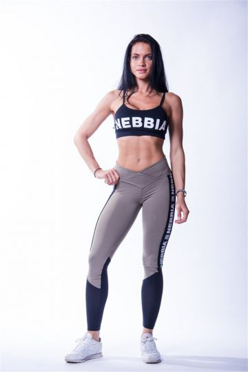 NEBBIA High Waist Mesh női leggings 601