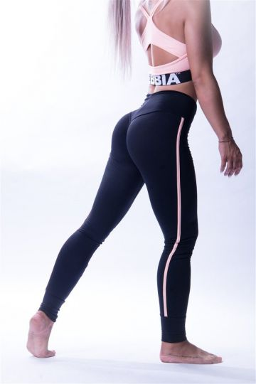 NEBBIA One Striped női leggings 652