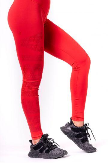 NEBBIA One tone pattern női leggings 677