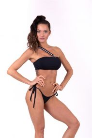 Nebbia Bikini top bandeau s odnímateľnými trakmi 672