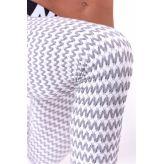 NEBBIA Boho Style 3D pattern legíny 658