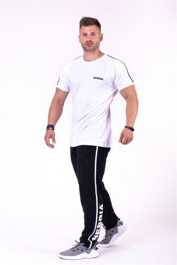 Nebbia Side Stripe Retro joggersy 154