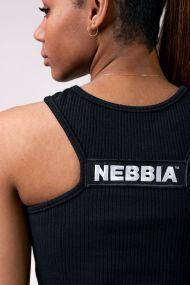 Nebbia Dámsky Športový Crop Top Labels 516