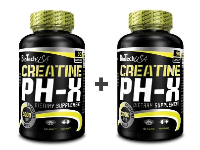 Biotech USA Creatine pH-X 2x90 kaps
