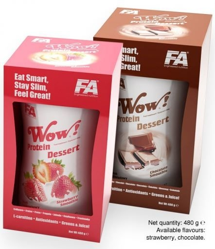 Fitness Authority WOW Protein Dessert