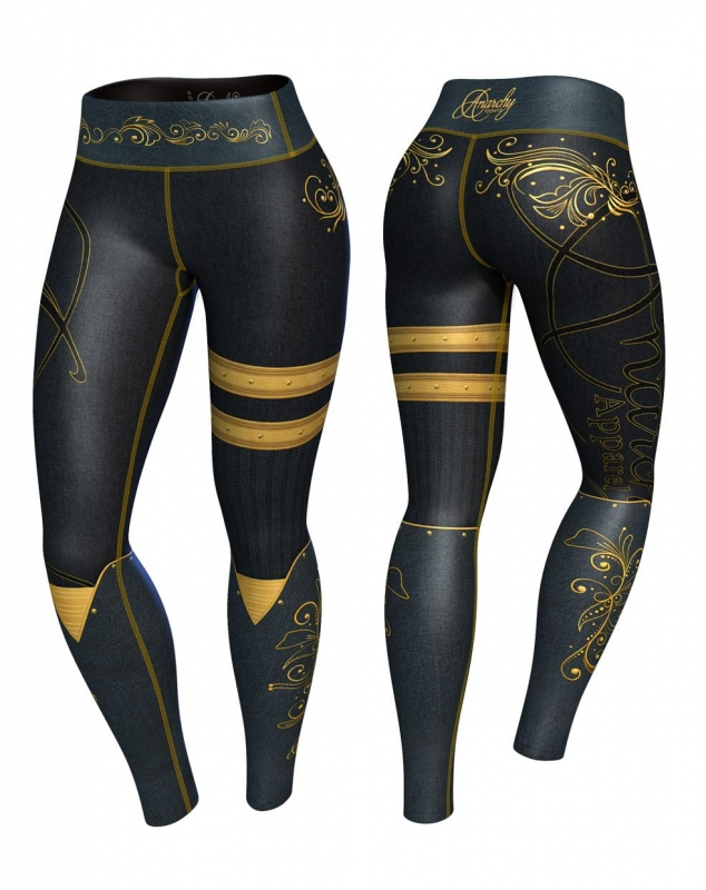 Anarchy Apparel Royal Kompressziós Leggings