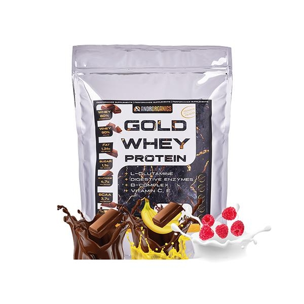 Androrganics Gold Whey Protein 50g
