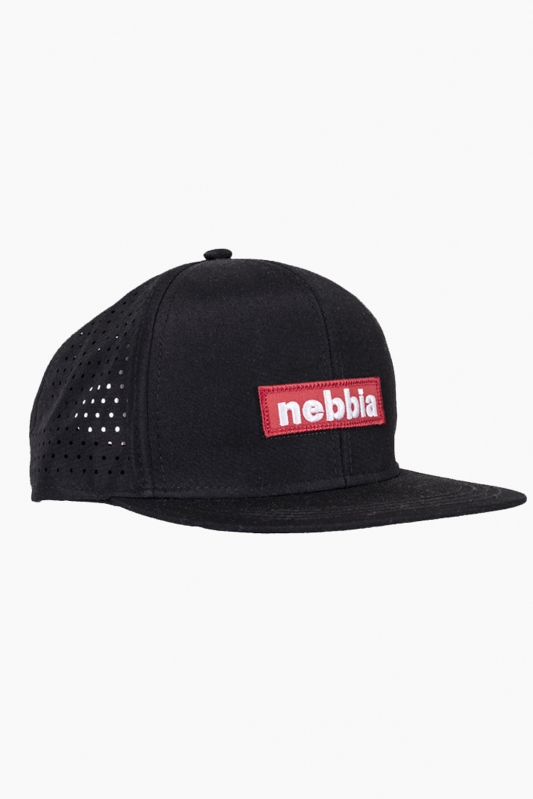 Nebbia sapka Red Label Snap Back 163 - Fekete