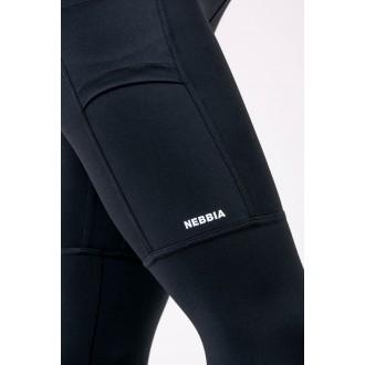Nebbia Leggings Magasított derékkal 505 - Fekete
