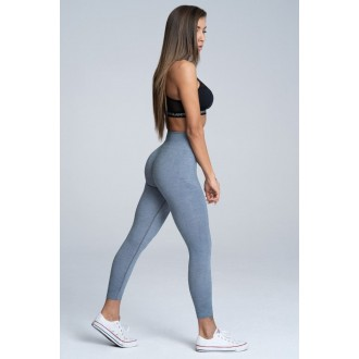 Gym Glamour Leggings Varrat nélküli Steel Melange