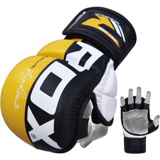 RDX T6 MMA kesztyű - Sárga