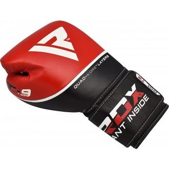 RDX Bőr Box Kesztyű T9 - Piros