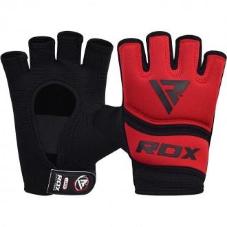 RDX  Kézi gél bandázs X6 - Piros