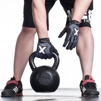 MadMax X Gloves Crossfit Edzőkesztyű - Piros