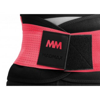 MadMax öv Slimming and support belt Piros