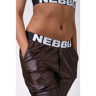 NEBBIA nadrág Sport Drop Crotch 529 - Barna