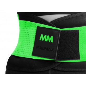 MadMax öv Slimming and support belt - Zöld