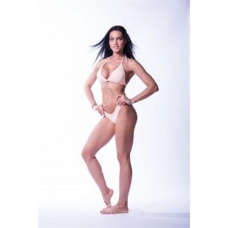NEBBIA Triangle bikini top 631 felső rész - Lazac színű