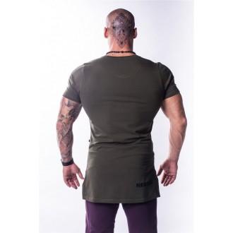 NEBBIA AW Atheltic logo trikó 730 - Khaki