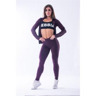 """NEBBIA """"N""""s női leggings 653 - Burgundi"""