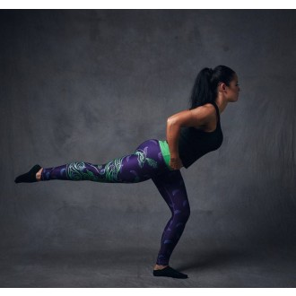Six Deuce Peacock Fitness Leggings