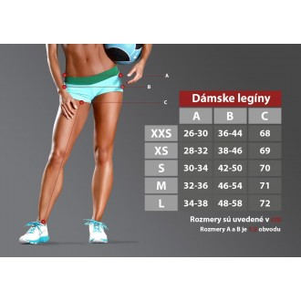 Six Deuce Carbon Fitness Legíny