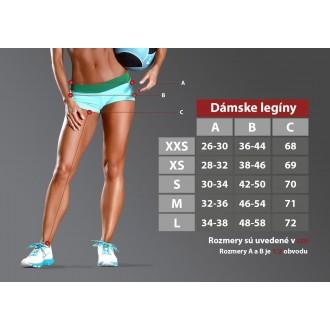 Six Deuce Red Tartan Fitness Leggings