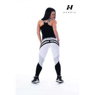 NEBBIA Combi leggings csík betéttel 214