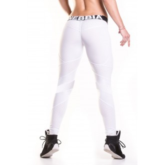 NEBBIA Network - White leggings 284