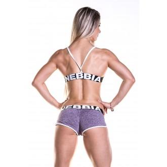 NEBBIA Fitness melltartó 267 - Lila