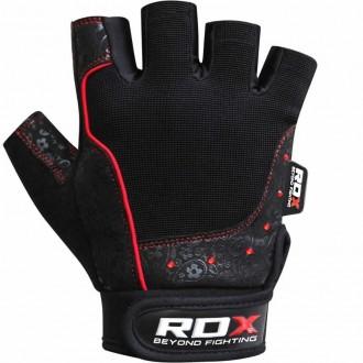 RDX Armada Black  Weight Lifting kesztyű