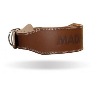 MadMax Full Leather öv - Fekete