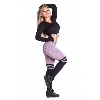 NEBBIA Over the knee - Purple leggings 286