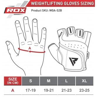 RDX Amara Bodybuilding Weight Lifting Rukavice