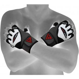 """RDX Men""""s Power fehér bőrkesztyű"""