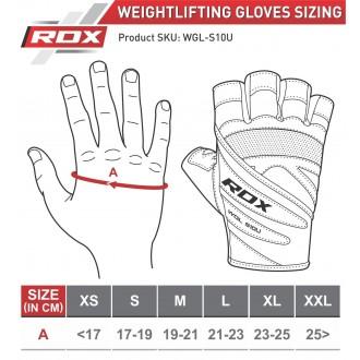 RDX Concept Weight Lifting kesztyű