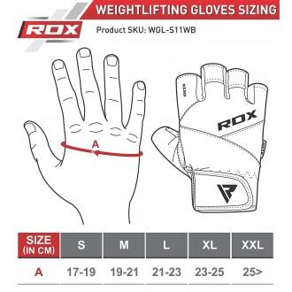 RDX S11 Prius Weight Lifting kesztyű