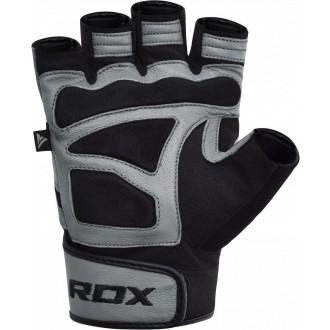 RDX Fitness kesztyű S12 szürke