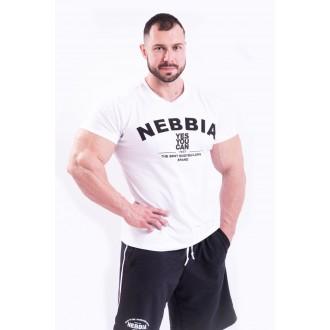 NEBBIA HardCore Trikó hímzéssel 396