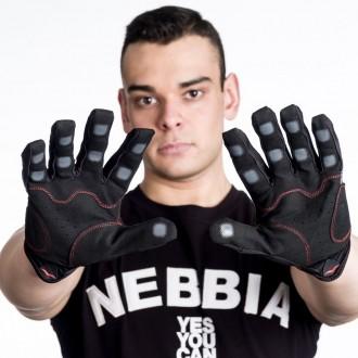 MadMax X Gloves Crossfit Edzőkesztyű - Fekete