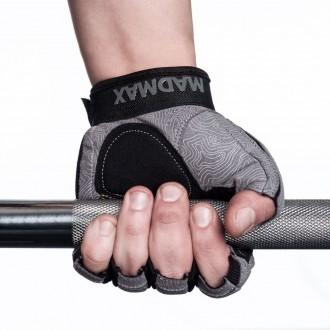 MadMax Fitness Edzőkesztyű Damasteel