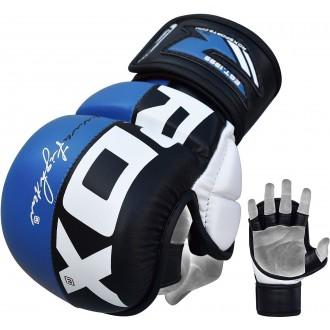 RDX T6 MMA kesztyű - Kék
