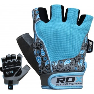 RDX Amara Fitness kesztyű - kék