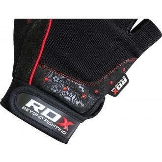 RDX Amara Fitness kesztyű - piros